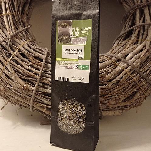 Lavande fine séchée biologique - Lavendelblüten getrocknet Bio 45 g