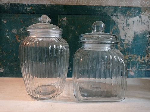 Glasgefäße zur Aufbewahrung