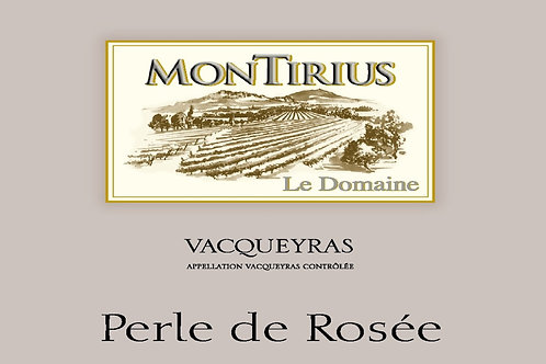 Montirius Perle de Rosée A.O.C. Vacqueyras Rosé 2018 Bio 0,75 l