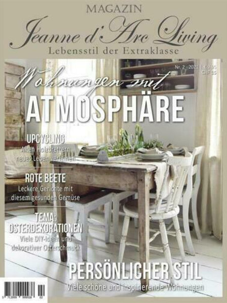 JDL Magazin 2. Auflage 2021 Wohnungen mit Atmosphäre
