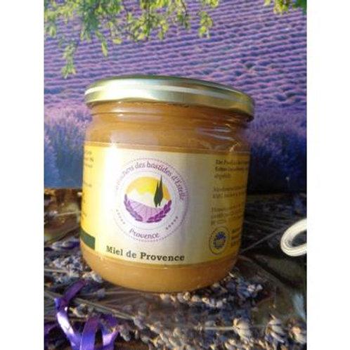 Miel de Provence - Honig aus Lavendel mit Blüten und Kräutern der Provence 500 g