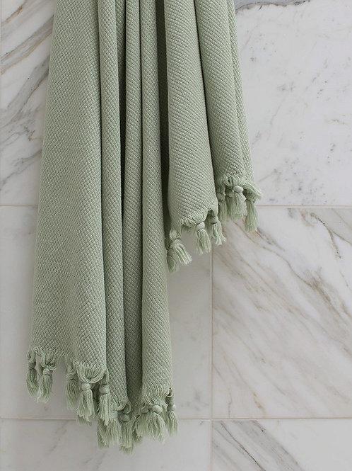 Handtuch Salbei 170 x 90 cm