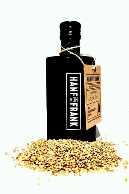 Hanf von Frank - Hanföl in Rohkostqualität - 250 ml