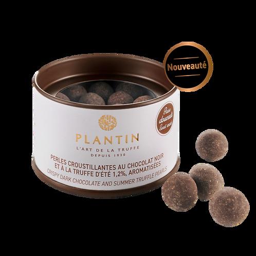 Perles croustillantes au chocolat noir et à la truffe d'été - 70 g