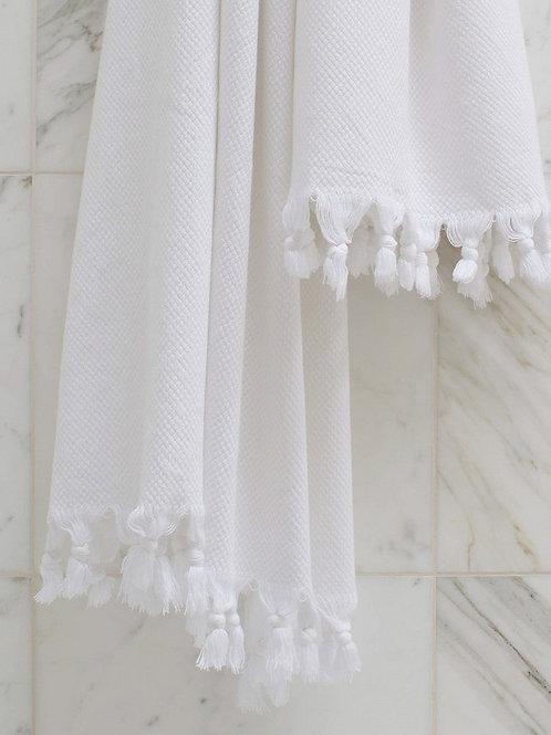 Handtuch Weiß 90 x 60 cm