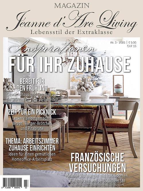 JDL Magazin 3. Auflage 2021 Inspirationen für ihr Zuhause