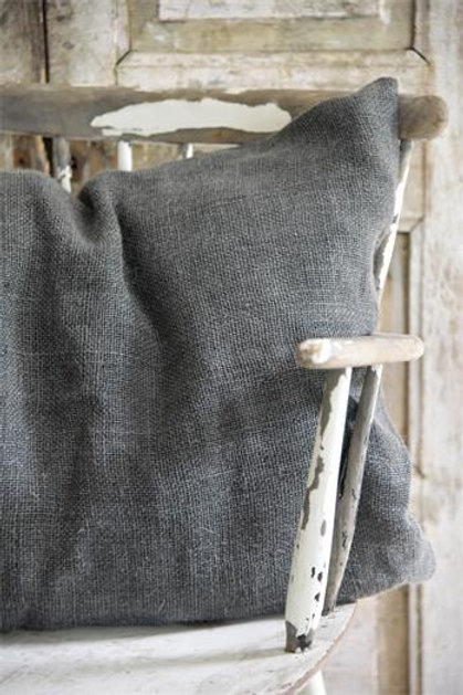 Kissenbezug aus Leinen