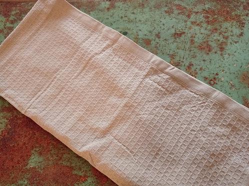Handtuch beige schöne Webung