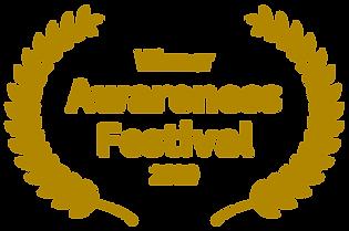 Gold_Winner - Awareness Festival - 2020.