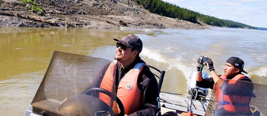 Recherche sur le pergélisol à Scotty Creek : Scotty Creek - vers un leadeurship autochtone