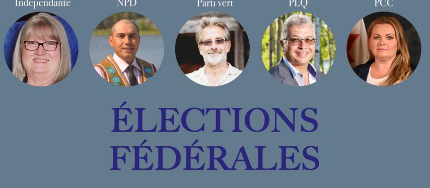 Élections 2021 : Place aux candidats des TNO