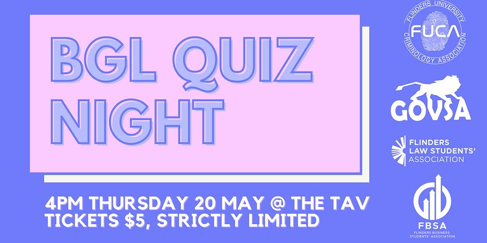 BGL Quiz Night
