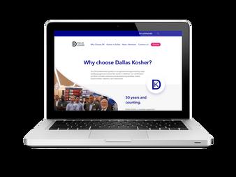 Dallas Kosher Non-profit Website