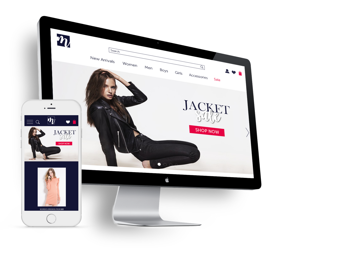 Mirror E-commerce Website