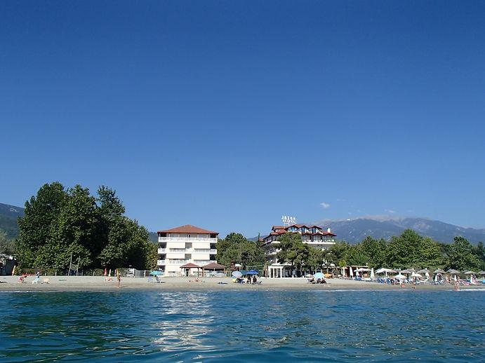 paralia Panteleimona  beach apartments greece