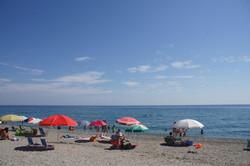Umbrella on the beach...