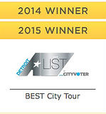 2014 2015 Winner Best City Tour Detroit A List City Voter