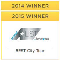 Best City Tour Detroit 2014 2015