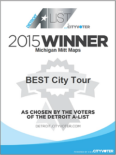 Detroit A LIst City Voter 2015 Winner Best City Tour