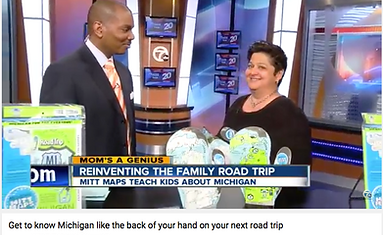 As seen on TV - Michigan Mitt Maps Road Trip