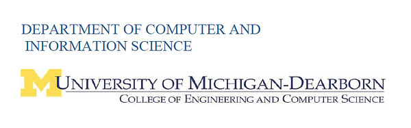 Department of Computer and Information Science, University of Michigan-Dearborn, College of Engineering