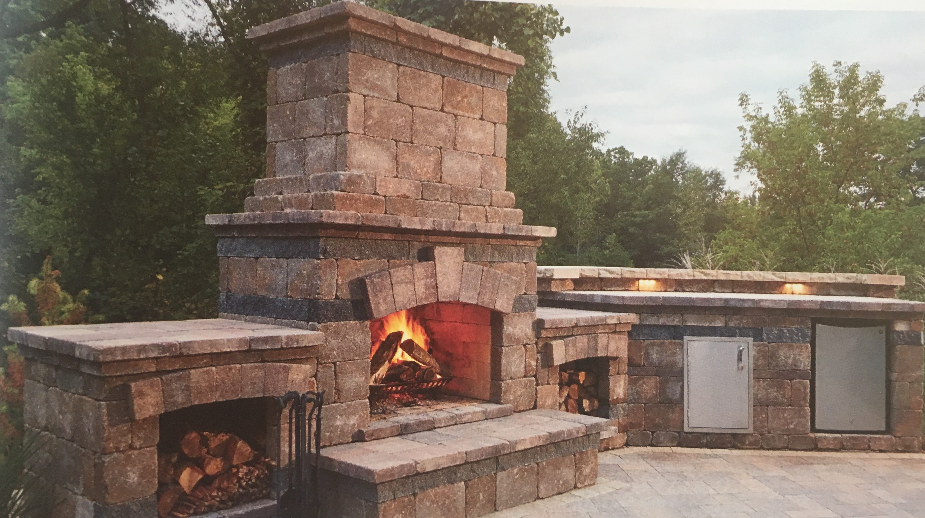 Outdoor Fireplaces 0