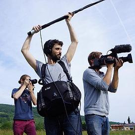 Guillaume Marty, ingénieur du son, Web-reportages Paysans