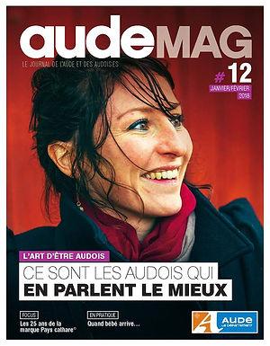 Couverture du magazine AudeMag Justine Bonnery La Popote à pépé