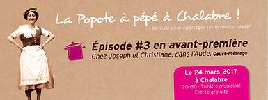 Avant-première de l'épisode #3 à Chalabre, Aude, Occitanie