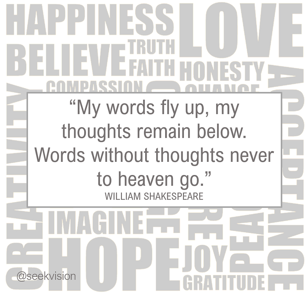 words heaven shakespeare quote