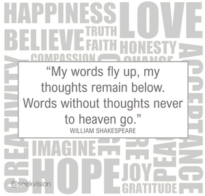 words heaven shakespeare quote