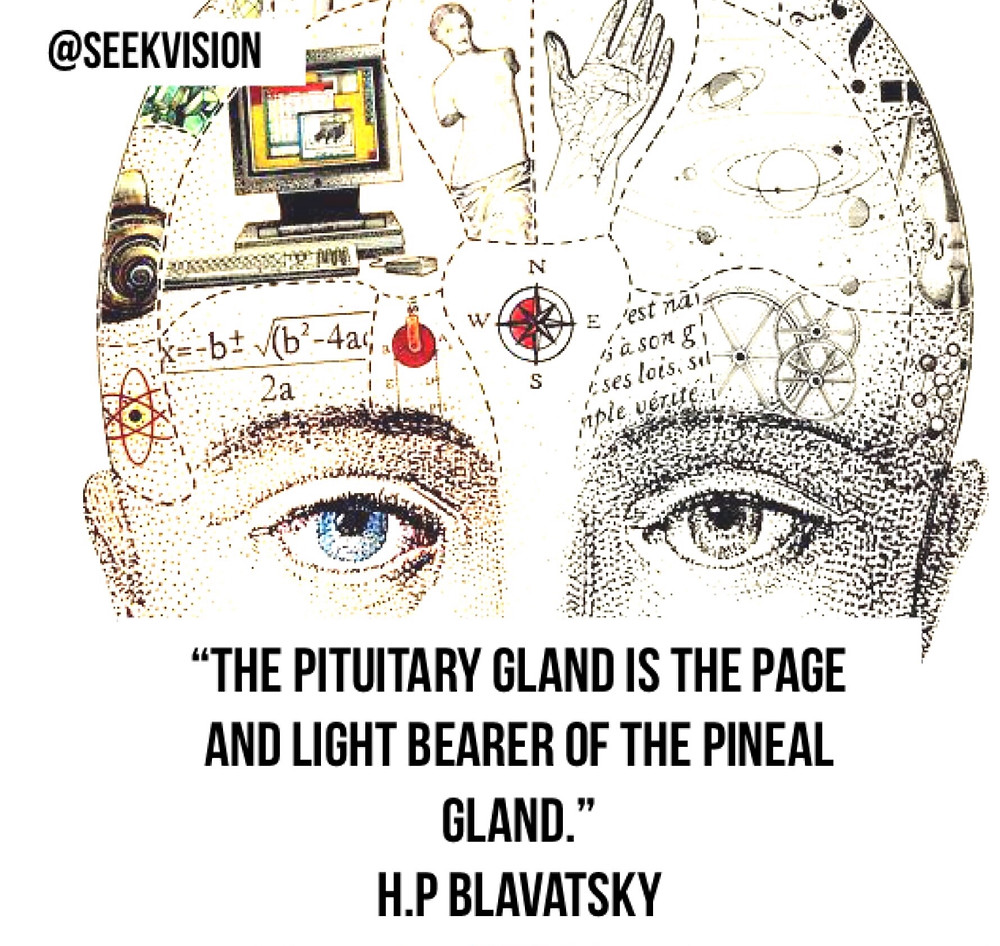 pituitary pineal light bearer helena blavatsky