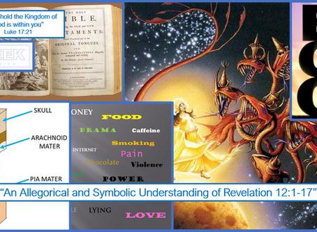 Revelation 12 - the red child devouring dragon