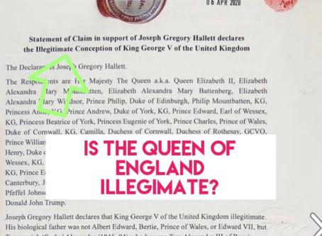NEW KING? ILLEGITIMATE QUEEN?