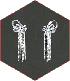 Artinian - diamond earrings