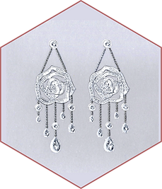Piaget - diamond earrings