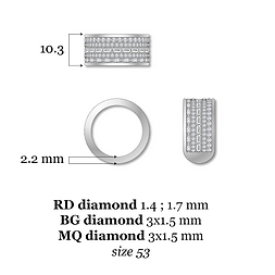 Ring : diamond