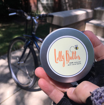 Lolly Butter Delivery Mode - Bike Delivery - Lolly Butter
