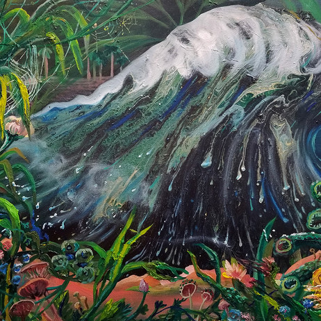 The Paradox Of A Tsunami In A Forest