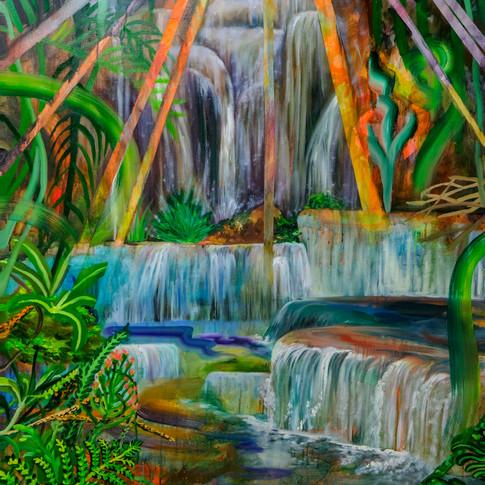 Sun Blessed Waterfalls