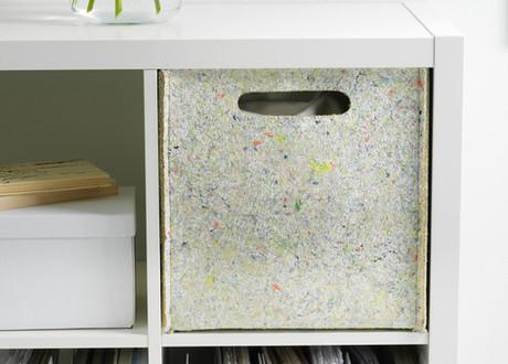 IKEA TILLVERKA: collectie van gerecycled vilt