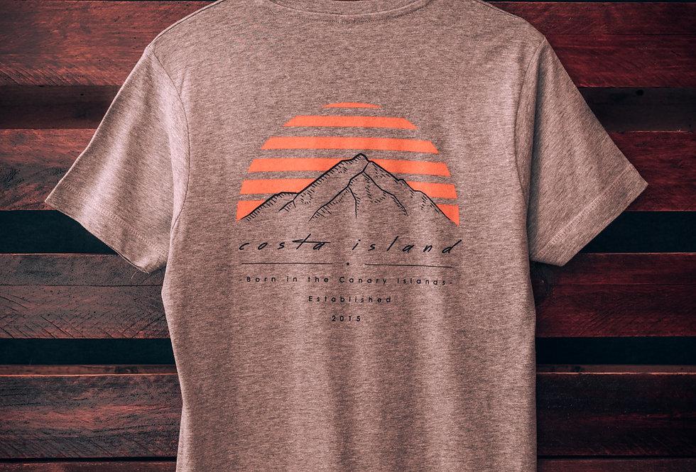 TEIDE - Camiseta Gris