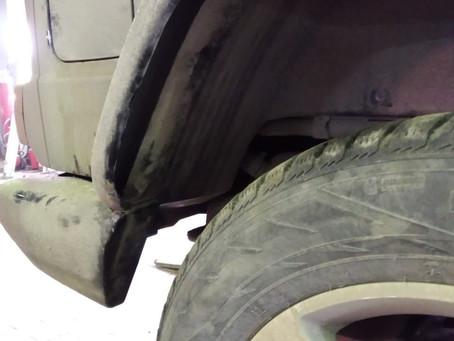 Топливный бак на Mercedes G463 с двигателем OM642.8 заполняется не полностью
