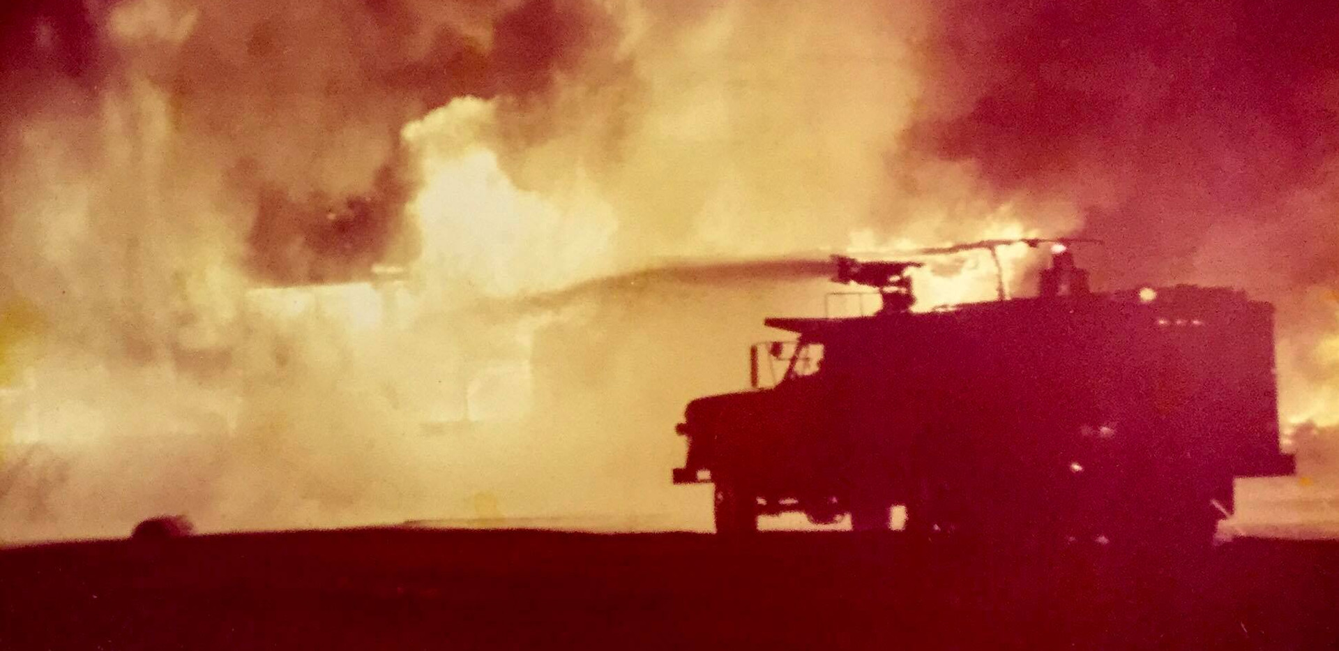 Robert Scott Elementary Fire, 1974