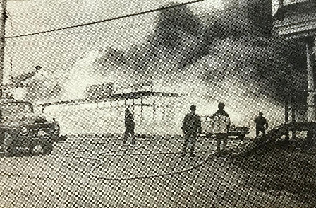 CRES Ltd. Fire, 1969