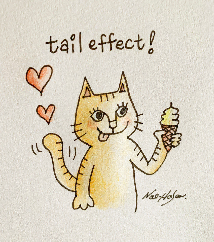 tail effect cat