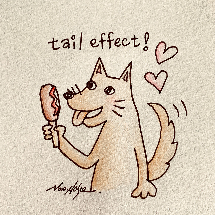 tail effect dog