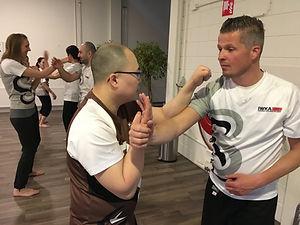 Kung fu volwassene les