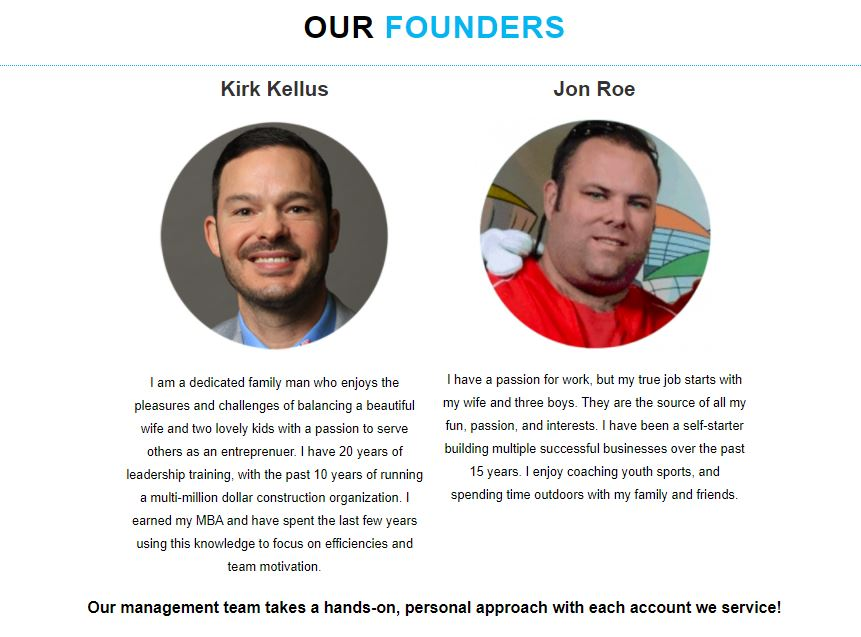 Founders Kirk + Jon