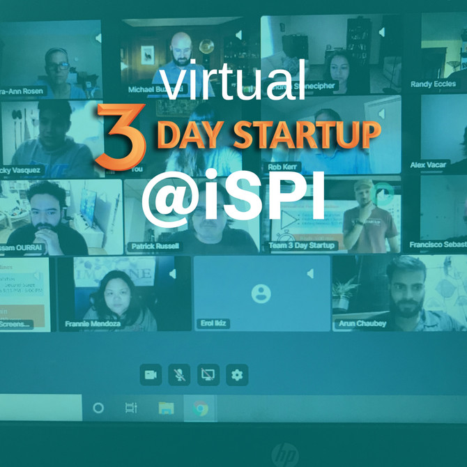 3 Day Startup @iSPI/UIS